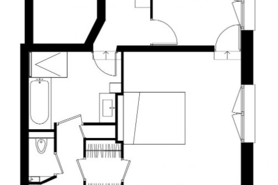 FAUBOURG POISSONNIÈRE –  restructuration complète d'un espace bain/atelier et wc