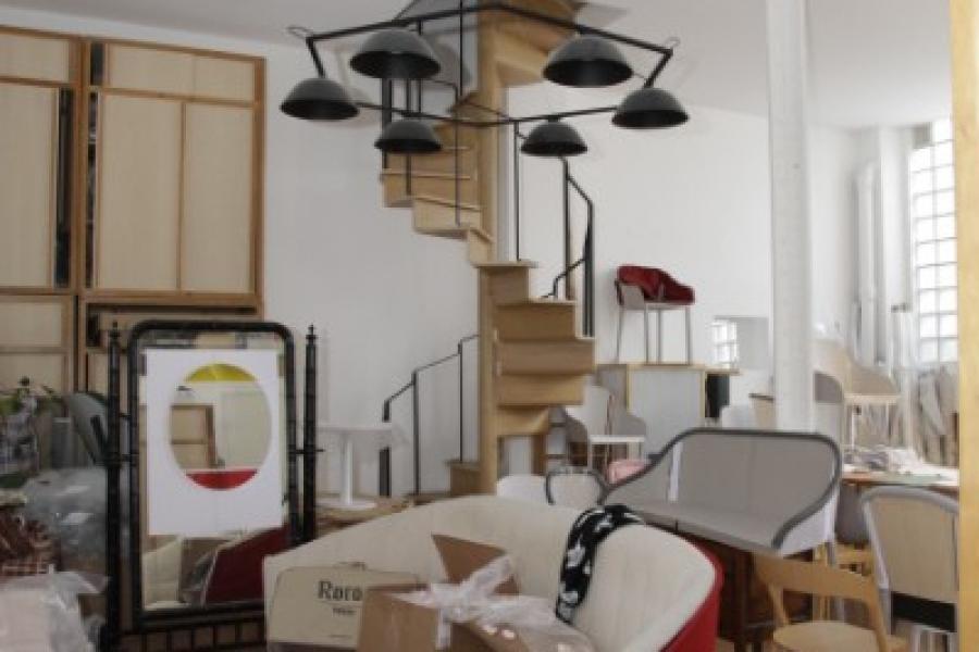 RECOLLETS - Restructuration complète d'anciens bureaux sur deux niveaux de 100m2