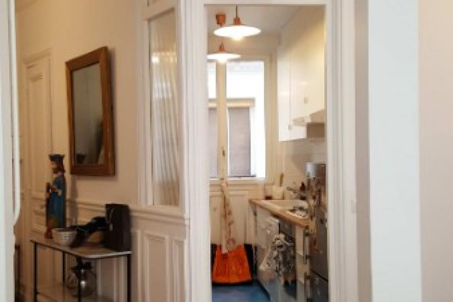 THIMMONIER - Restructuration complète d'un appartement de 85m2 et d'une chambre de bonne